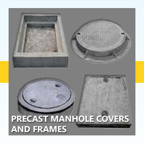 Precast Manhole Covers and Frames